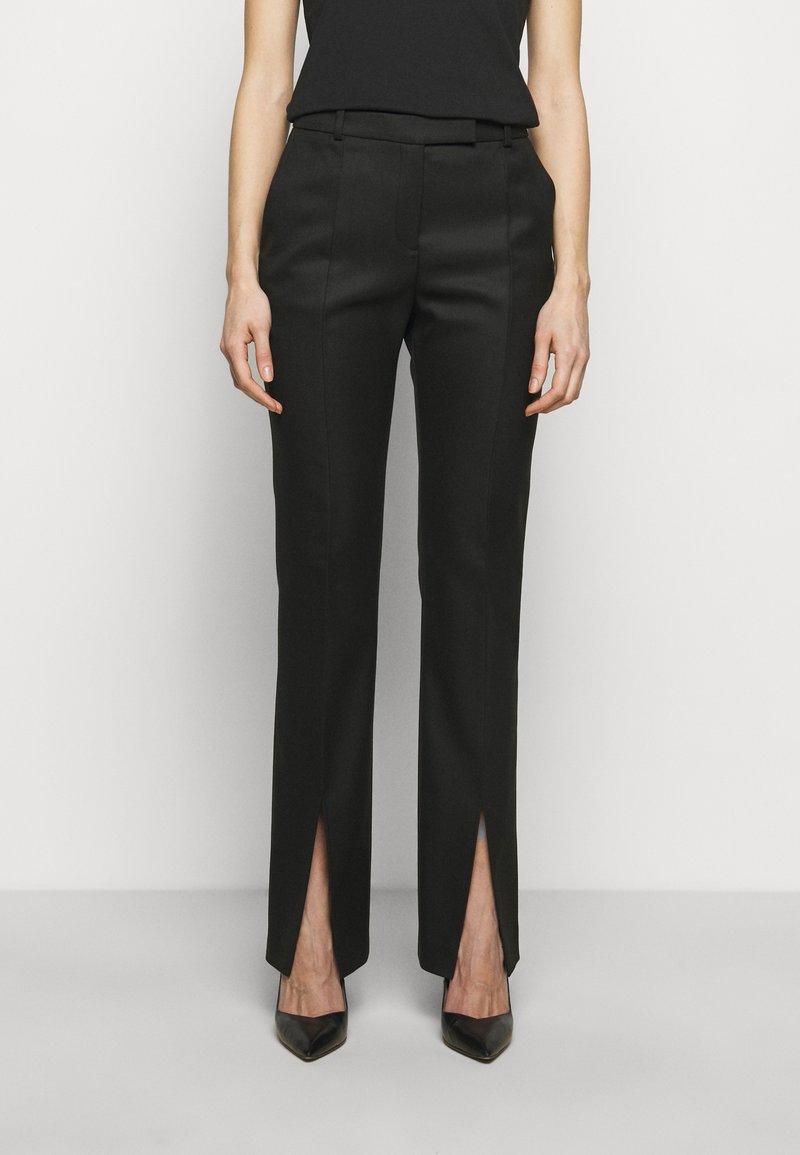 HUGO - HERLENE - Kalhoty - black