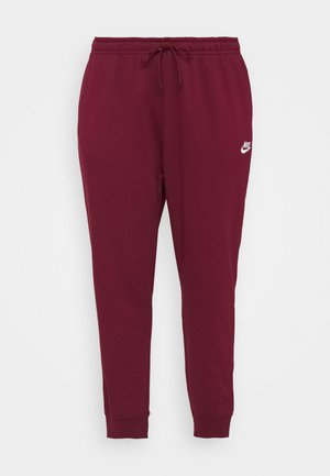PANT - Tracksuit bottoms - dark beetroot