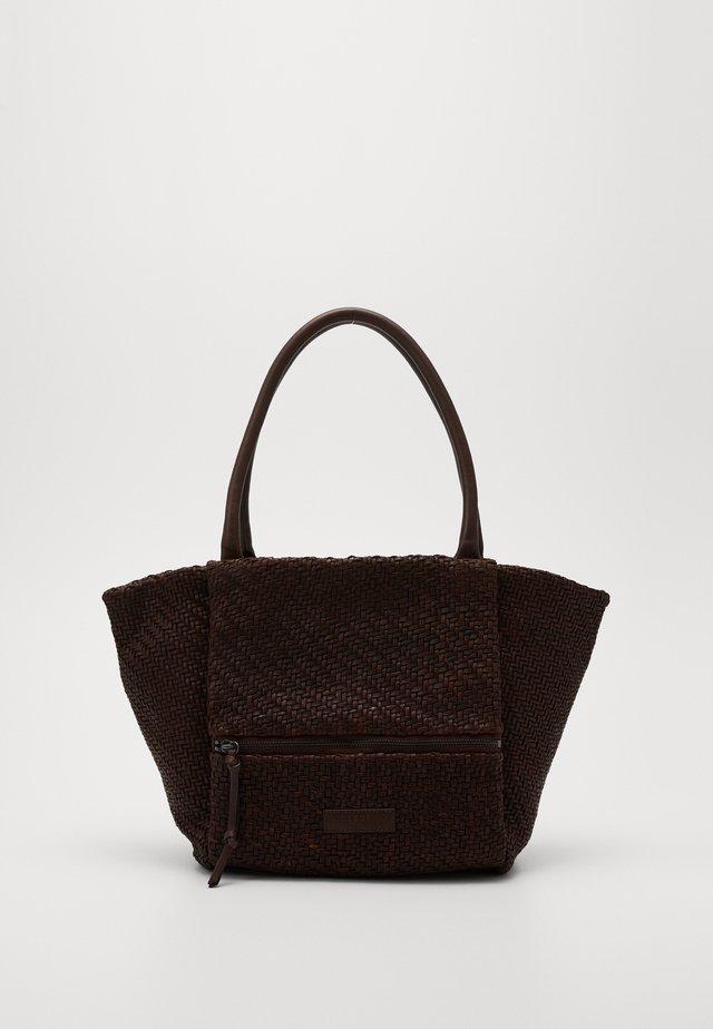 Tote bag - deep mahogany