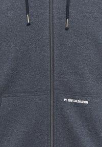 TOM TAILOR DENIM - HOODY JACKET  - Zip-up hoodie - sky captain blue - 2