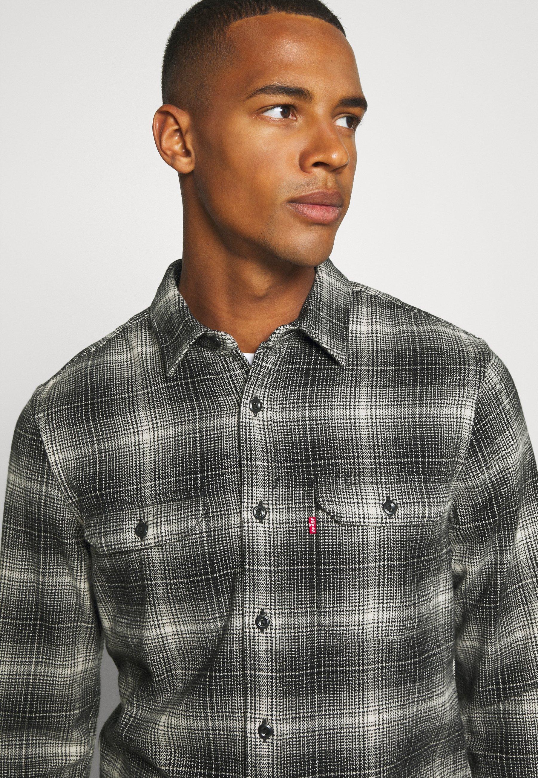 Levi's® Jackson Worker - Skjorte Ametrine Jet Black/antrasitt