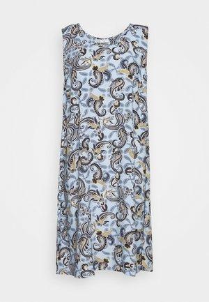Denní šaty - chambray blue mix