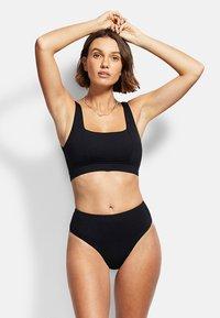 Seafolly - ACTIVE - Bikini bottoms - black - 1