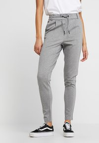 Noisy May - NMPOWER  - Trousers - medium grey - 0