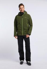 PYUA - GORGE - Giacca da snowboard - rifle green - 1