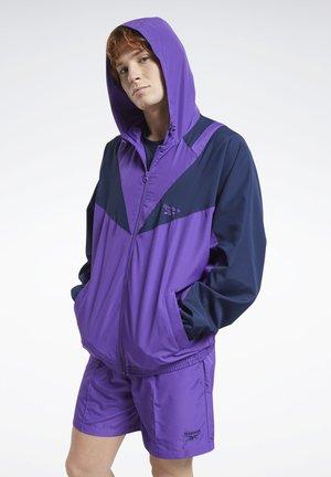 CLASSICS TRACK TOP - veste en sweat zippée - purple