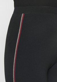 Marks & Spencer London - SIDE STRIPE - Leggings - Trousers - black - 3