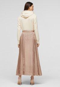 s.Oliver BLACK LABEL - A-line skirt - beige - 2