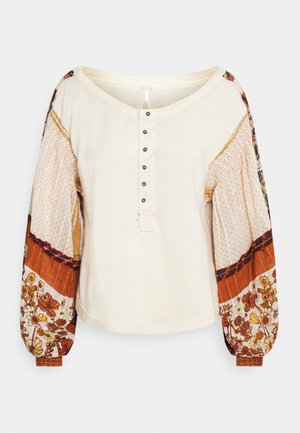LIGHT MAGIC HENLEY - Sweater - vanilla creme