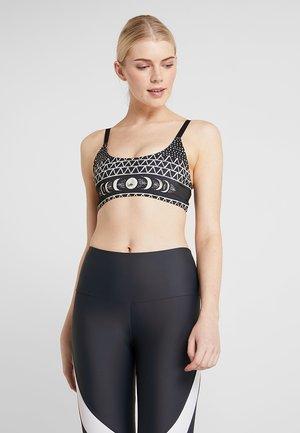 GRAPHIC BRA - Sports bra - black