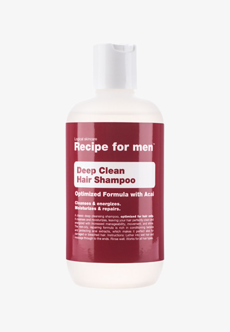 Recipe For Men - DEEP CLEAN HAIR SHAMPOO 250ML - Shampoing - -