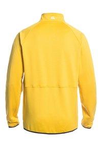 Quiksilver - MIT REISSVERSCHLUS - Fleece jacket - sulphur - 1