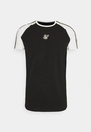 RAGLAN PREMIUM TAPE GYM - T-shirt print - black/white