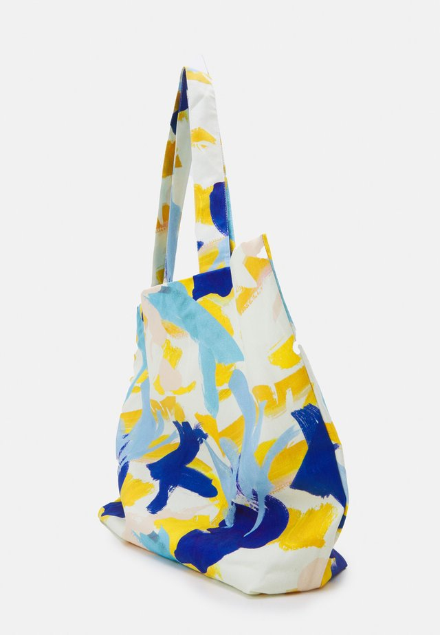 PRINT UNISEX - Shopping Bag - multicoloured/blue/orange