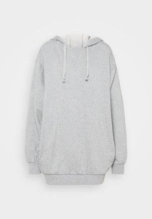 OVERSIZE HOODIE - Bluza z kapturem - grey