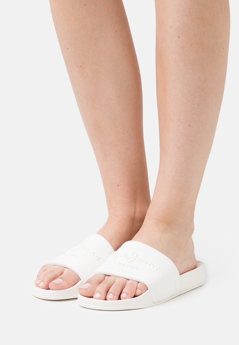 Pepe Jeans - SLIDER  - Mules - offwhite