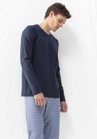 Mey - Pyjama top - yacht blue - 0