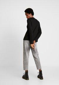 G-Star - LOOSE FUNNEL - Long sleeved top - black - 2