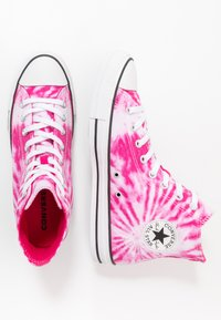 Converse - CHUCK TAYLOR ALL STAR - High-top trainers - cerise pink/game royal/white - 1