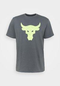 ROCK BRAHMA BULL - Print T-shirt - pitch gray