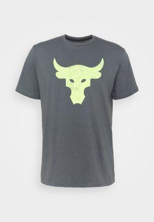 ROCK BRAHMA BULL - Camiseta estampada - pitch gray