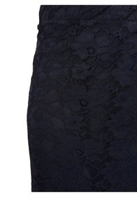 Zizzi - Pleated skirt - blue - 4