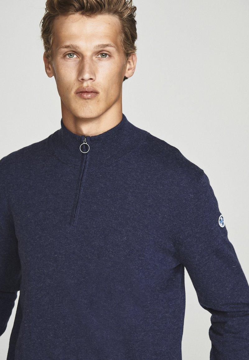 North Sails Strickpullover - blue melange/blau fcrrKt