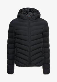 MJK GRANTPLAIN - Winterjas - black