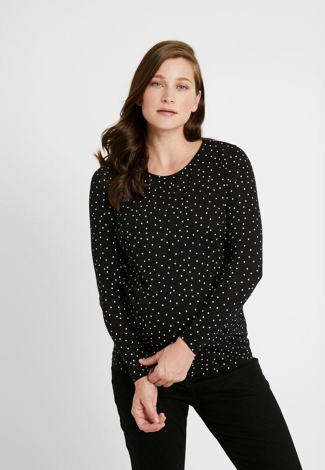 MATERNITCANDICE - Bluzka z długim rękawem - black pattern