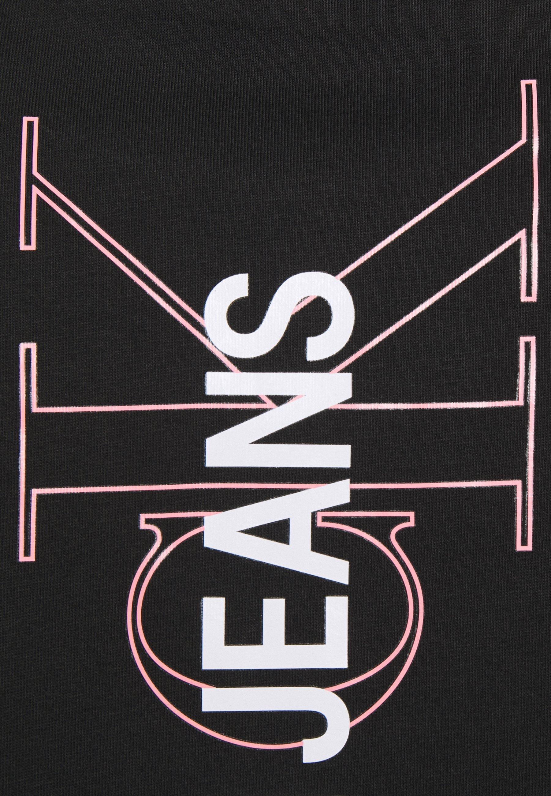 Damen VERTICAL LOGO TEE - T-Shirt print