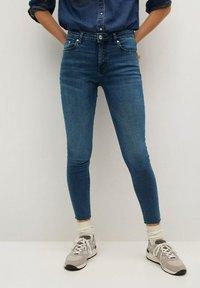 Mango - ISA - Jeans Skinny Fit - diep donkerblauw - 1