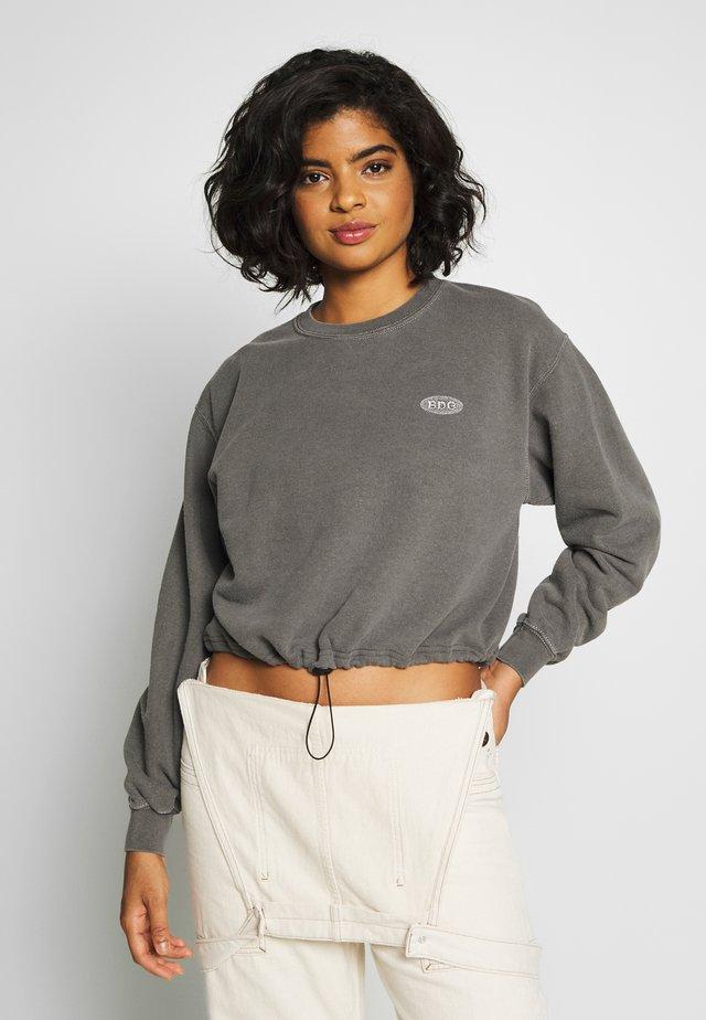 BUBBLE HEM  - Sweatshirt - charcoal