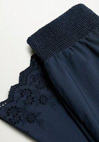Violeta by Mango - Bukse - dunkles marineblau - 2