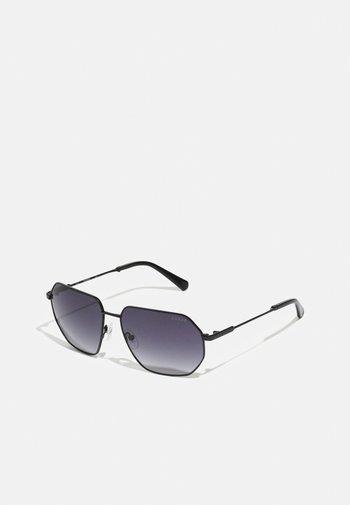 UNISEX - Sunglasses - shiny black/smoke