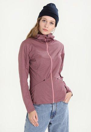ULTIMATE TOUR  HOODED  - Soft shell jacket - rose melange