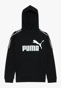 Puma - AMPLIFIED HOODY  - Hoodie - black - 0