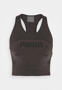 Puma - EVOSTRIPE EVOKNIT CROP - Top - black - 0