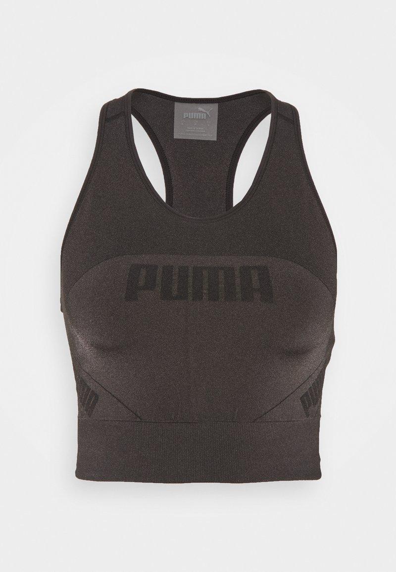 Puma - EVOSTRIPE EVOKNIT CROP - Top - black
