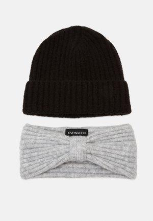 SET - Öronvärmare - grey/black