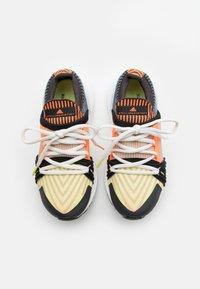 adidas by Stella McCartney - ULTRABOOST 20 S. - Neutrální běžecké boty - light flash yellow/soft powder/utility black - 3