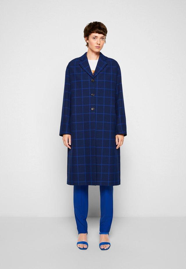 COAT - Klasický kabát - blue