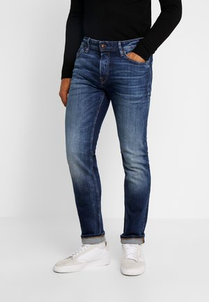 JJIMIKE JJORIGINAL JOS - Jeansy Straight Leg - blue denim