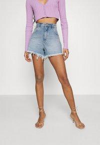 Abrand Jeans - A VENICE - Denim shorts - april - 0