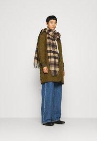 ARKET - JACKET - Krátký kabát - brown medium dusty - 1