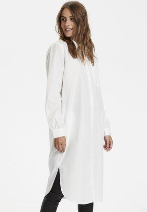 Shirt dress - chalk