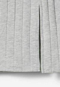 LMTD - Pencil skirt - light grey melange - 2
