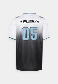FUBU - CORPORATE GRADIENT FOOTBALL - Print T-shirt - white - 1