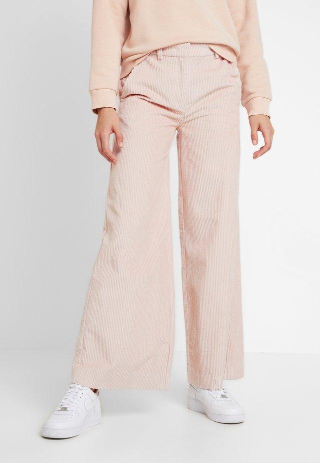 MAKO TROUSERS - Trousers - rosé
