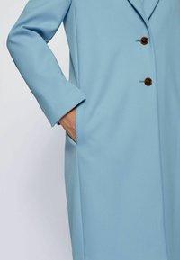 BOSS - Classic coat - light blue - 4