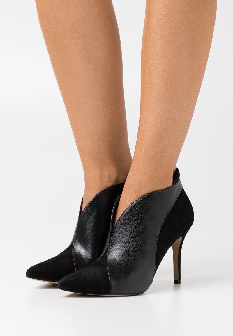 San Marina - VALENTI - High heeled ankle boots - noir